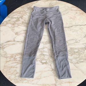 Lululemon heather grey yoga leggings S